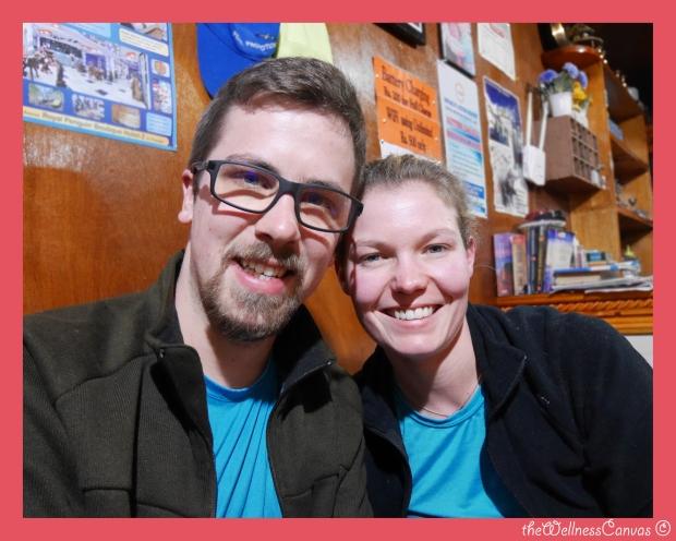 Melanie and Etienne